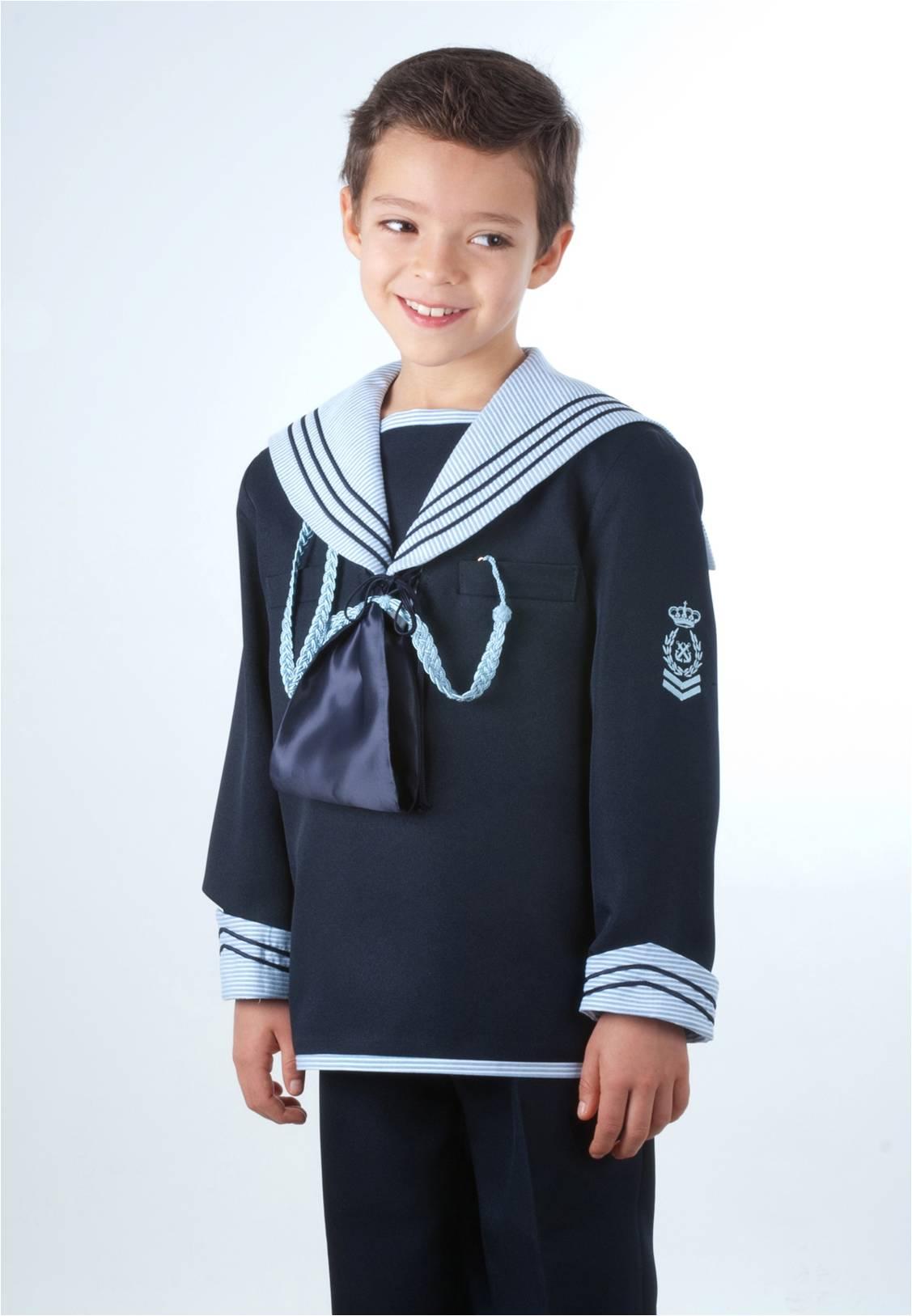 traje marinero fantasía combinación de raya
